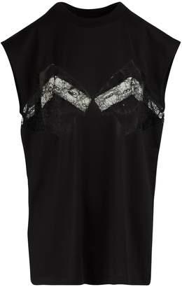 Maison Margiela Lace detail T-shirt
