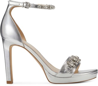 Nine West   Neil Lane Engaged Heeled Ankle Strap Sandals