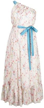 Alexis Teodora one-shoulder dress