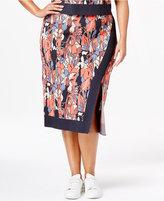 Rachel Roy Trendy Plus Size Midi Sweater Skirt