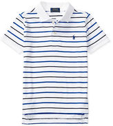 Ralph Lauren Boys 2-7 Striped Cotton Polo