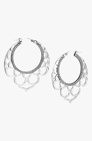 John Hardy 'Naga' Hoop Earrings
