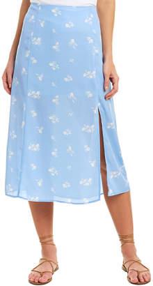 Gilli Slit Midi Skirt