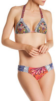 Maaji Boho Passenger Triangle Reversible Bikini Top