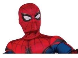 BuySeasons Spider - Man, Far From Home Child Spider - Man Fabric Mask