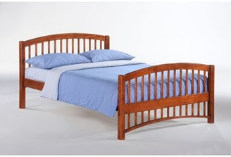 Zest Storage Bed Night & Day Furniture Color: Cherry, Size: Full
