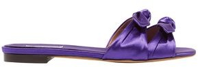 Tabitha Simmons Cleo Knotted Satin Slides