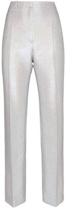 Paco Rabanne Iridescent Slim-Leg Trousers