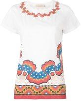 Valentino 'Rockstud Star Stripes' T-shirt