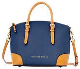 Dooney & Bourke Claremont Leather Dome Satchel Bag