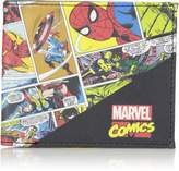 Marvel Men's Multi Slimfold Wallet in Collectible Tin Box Accessory, -red/black