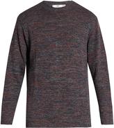 INIS MEÁIN Blackberry linen sweater