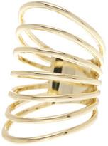 Ariella Collection Cutout Shield Ring