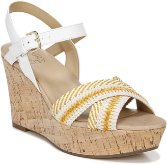 Naturalizer Ankle Strap Wedge Sandals - Zia 2