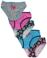 "Sweet Princess Big Girls' ""Rosy Sweetness"" 5-Pack Panties"