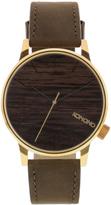 Komono Gold Wood Winston Watch