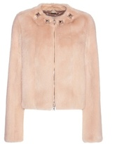 Givenchy Embellished Mink Fur Jacket