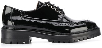 ALEXACHUNG Chunky 40mm Lace-Up Brogues