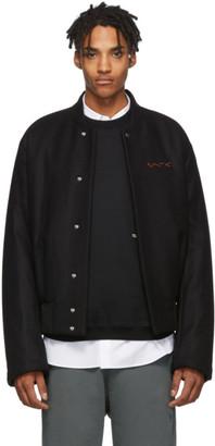 Oamc Black Spector Bomber Jacket