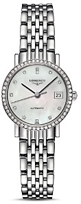Longines Elegant Diamond Watch, 25.5mm