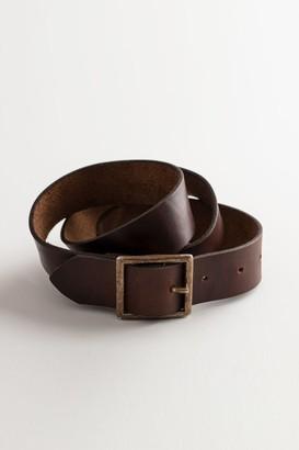 Velvet by Graham & Spencer Simple Vintage Leather Belt