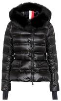 Moncler Armonique fur-trimmed ski jacket