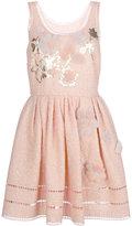 Fendi sleeveless short dress