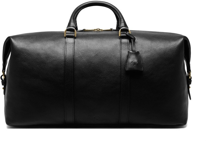 Mulberry Clipper Black Natural Vegetable Tanned