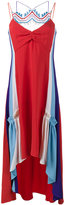 Peter Pilotto asymmetric crochet dress - women - Acetate/Viscose - 12