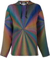 Jeremy Scott rainbow hoodie - women - Polyester - 38