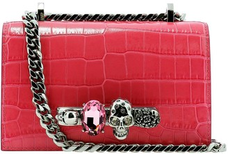 Alexander McQueen Jewelled Mini Satchel Bag