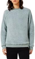 Topman Men's Plush Fleece Sweatshirt