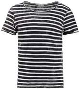 Ltb Dabito Print Tshirt Black White Stripes