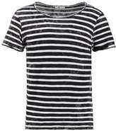 Ltb Dabito Print Tshirt Black White Stripes