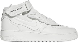 Comme des Garcons X Nike Air Force 1 Cut-Out Sneakers