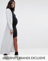 Missguided Maternity Maxi Duster Coat
