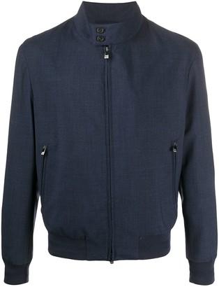 Corneliani Front Zip Bomber Jacket