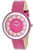Crayo Celebration Collection CRACR3402 Unisex Watch with Leather Strap