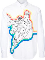 Iceberg Superman print shirt - men - Cotton - L