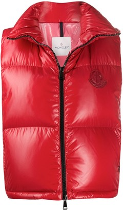Moncler Padded Zip-Up Gilet
