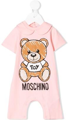 MOSCHINO BAMBINO Teddy Toy print shorties