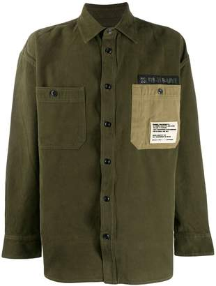 Diesel military overshirt