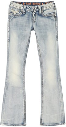 Rock Revival Faded Bootcut Jeans