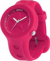 Converse Unisex VR001620 Rookie Icon Magenta Analog Watch