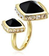 Rachel Zoe Prestley Pyramid Duo Ring, Size 7