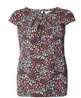 Dorothy Perkins Wo**billie & Blossom Red Ditsy Shell Top- Red