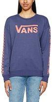 Vans Women's Low Rider Crew Sweatshirt,X-Small