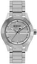 Versus By Versace Women's SOJ070015 Bayside Analog Display Quartz Silver Watch