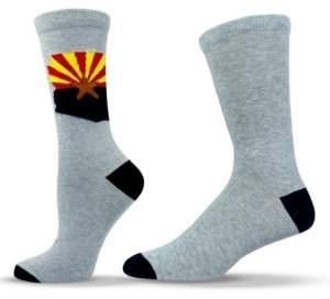 Americana Unisox Unisex Arizona Flag Crew Socks