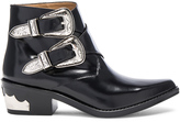 Toga Pulla Polished Leather Booties